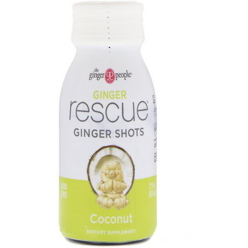 The Ginger People, Ginger Rescue Shots, Coconut, 2 fl oz (60 ml) Review