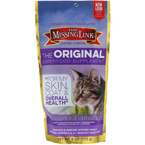 The Missing Link, The Original Superfood Supplement, Powder Formula, For Cats, 6 oz (170 g) Review