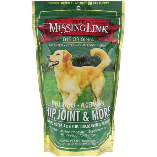 The Missing Link, Well Blend, Vegetarian, Hip, Joint & More, 1 lb (454 g) Review