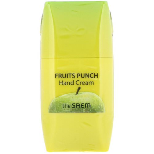 The Saem, Fruits Punch Hand Cream, Apple, 1.69 fl oz (50 ml) Review
