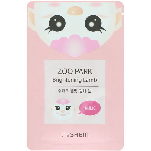 The Saem, Zoo Park, Brightening Lamb Mask, 1 Mask, 0.84 fl oz (25 ml) Review