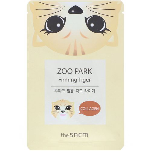 The Saem, Zoo Park, Firming Tiger Mask, 1 Mask, 0.84 fl oz (25 ml) Review