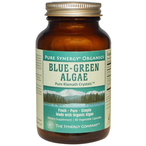 The Synergy Company, Organic Blue-Green Algae, 90 Veggie Caps Review