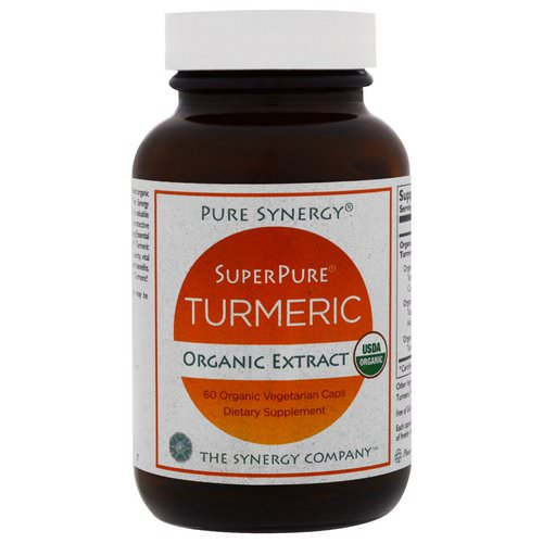 The Synergy Company, Organic SuperPure Turmeric Extract, 60 Organic Veggie Caps Review