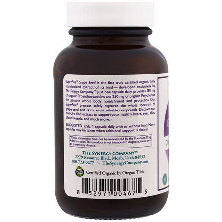 The Synergy Company, Grape Seed Extract