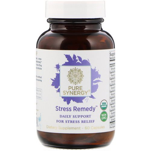 The Synergy Company, Stress Remedy, 60 Capsules Review
