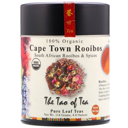 The Tao of Tea, 100% Organic South African Roobios & Spices, Cape Town Rooibos, 4.0 oz (114 g) Review