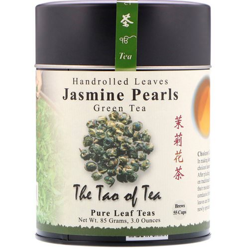 The Tao of Tea, Handrolled Leaves Green Tea, Jasmine Pearls, 3 oz (85 g) Review