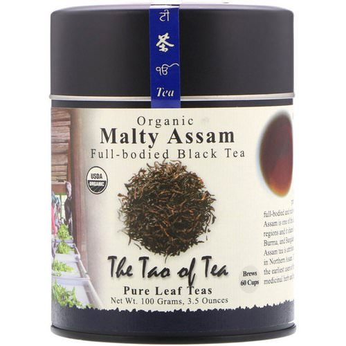 The Tao of Tea, Organic, Full Bodied Black Tea, Malty Assam, 3.5 oz (100 g) Review