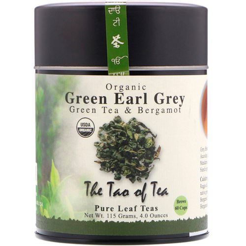 The Tao of Tea, Organic Green Tea & Bergamot, Green Earl Grey, 4.0 oz (115 g) Review