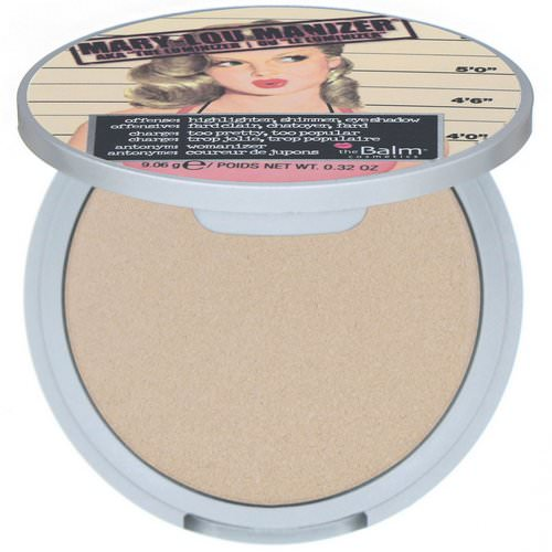theBalm Cosmetics, Mary-Lou Manizer, Highlighter & Shadow, 0.32 oz (9.06 g) Review