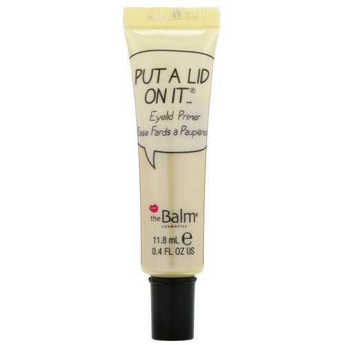 theBalm Cosmetics, Put A Lid On It, Eyelid Primer, 0.4 fl oz (11.8 ml) Review