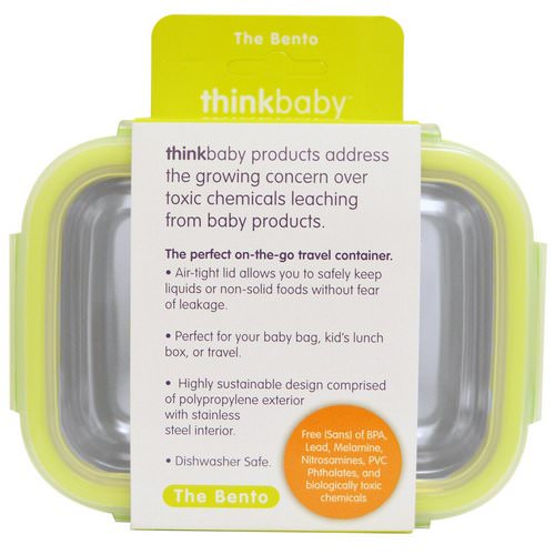 Think, Thinkbaby, The Bento Box, Light Green, 9 oz (250 ml) Review