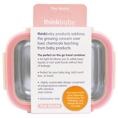 Think, Thinkbaby, The Bento Box, Pink, 9 oz (250 ml) Review