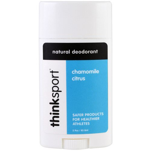 Think, Thinksport, Natural Deodorant, Chamomile Citrus, 2.9 oz (85.8 ml) Review