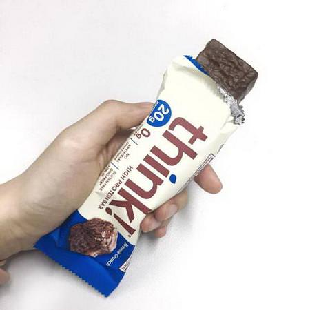 ThinkThin, Whey Protein Bars, Soy Protein Bars