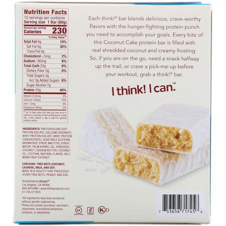 ThinkThin, Protein Bars