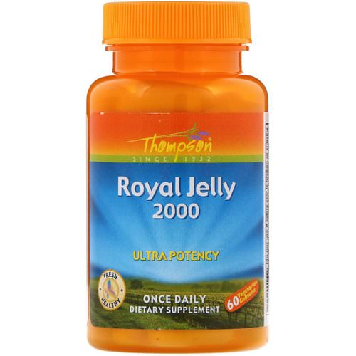 Thompson, Royal Jelly, 2,000 mg, 60 Vegetarian Capsules Review