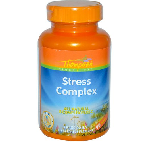 Thompson, Stress Complex, 90 Capsules Review