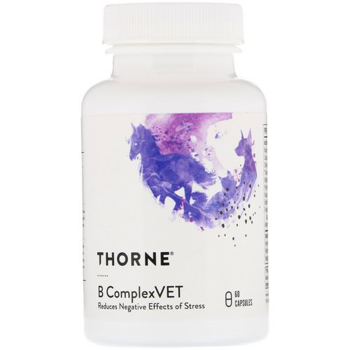 Thorne Research, B ComplexVET, 60 Capsules Review