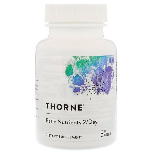 Thorne Research, Basic Nutrients 2/Day, 60 Capsules Review