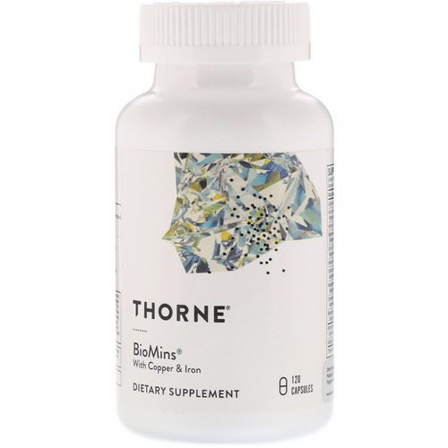Thorne Research, BioMins with Copper & Iron, 120 Capsules Review