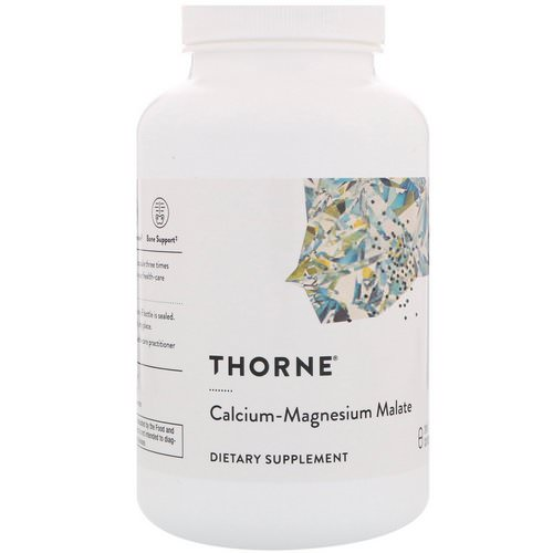Thorne Research, Calcium-Magnesium Malate, 240 Capsules Review