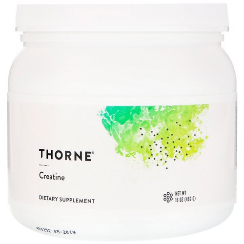 Thorne Research, Creatine, 16 oz (450 g) Review