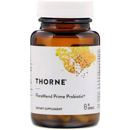 Thorne Research, FloraMend Prime Probiotic, 30 Capsules Review