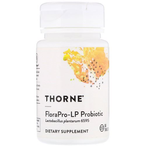 Thorne Research, FloraPro-LP Probiotic, 60 Tablets Review