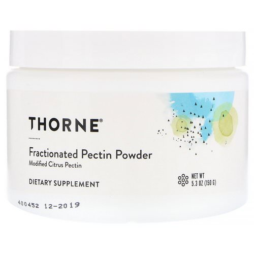 Thorne Research, Fractionated Pectin Powder, 5.3 oz (150 g) Review