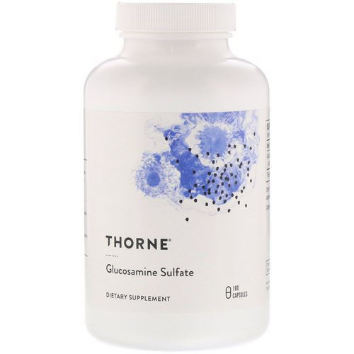 Thorne Research, Glucosamine Sulfate, 180 Capsules Review