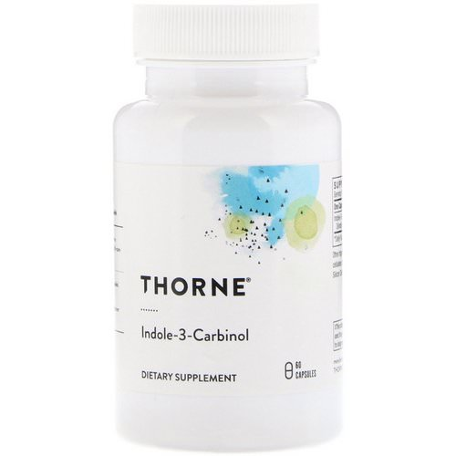 Thorne Research, Indole-3-Carbinol, 60 Capsules Review