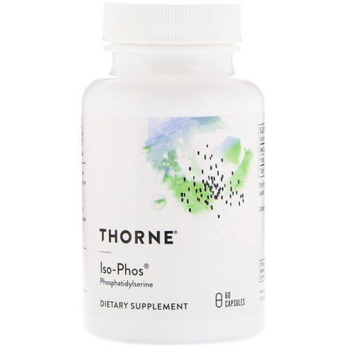 Thorne Research, Iso-Phos, Phosphatidylserine, 60 Capsules Review