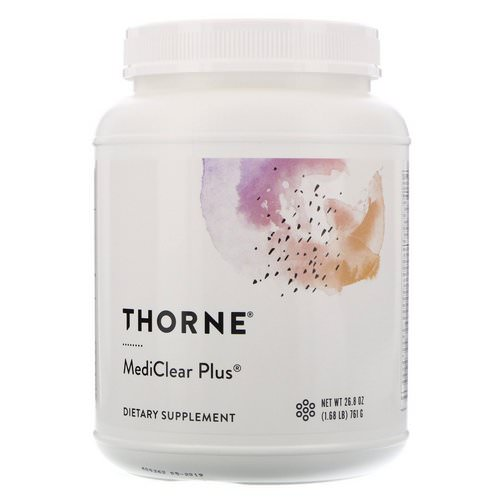 Thorne Research, MediClear Plus, 1.68 lbs (761 g) Review