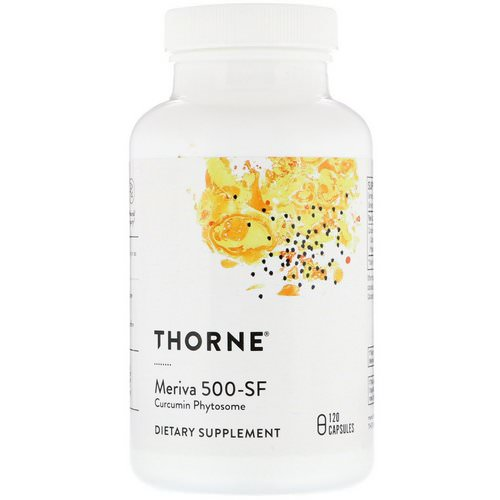 Thorne Research, Meriva 500-SF, 120 Capsules Review