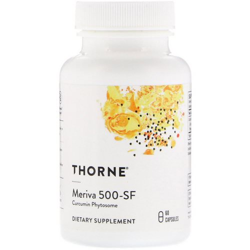Thorne Research, Meriva 500-SF, 60 Capsules Review
