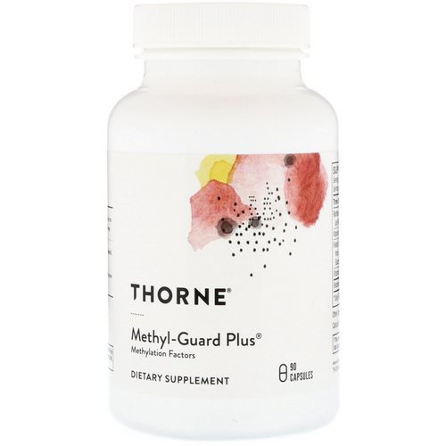 Thorne Research, Methyl-Guard Plus, 90 Capsules Review