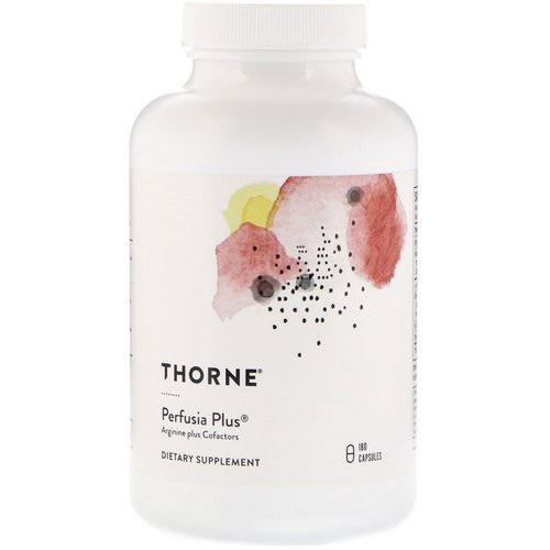 Thorne Research, Perfusia Plus, 180 Capsules Review