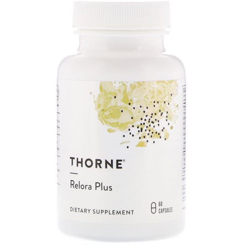 Thorne Research, Relora Plus, 60 Capsules Review