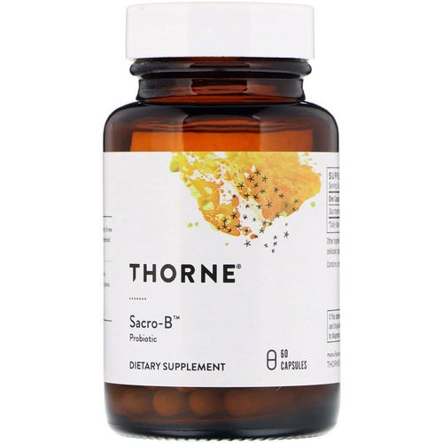Thorne Research, Sacro-B, Probiotic, 60 Capsules Review