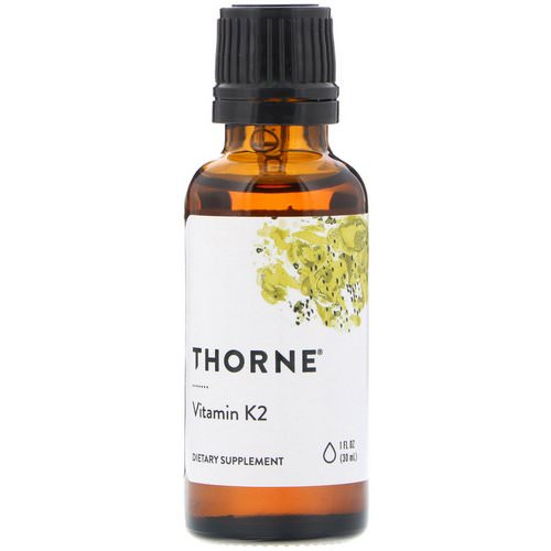 Thorne Research, Vitamin K2, 1 fl oz (30 ml) Review