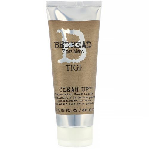 TIGI, Bed Head, Clean Up, Peppermint Conditioner, For Men, 6.76 fl oz (200 ml) Review