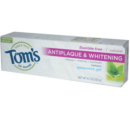 Whitening, Fluoride Free, Toothpaste, Oral Care, Personal Care, Bath