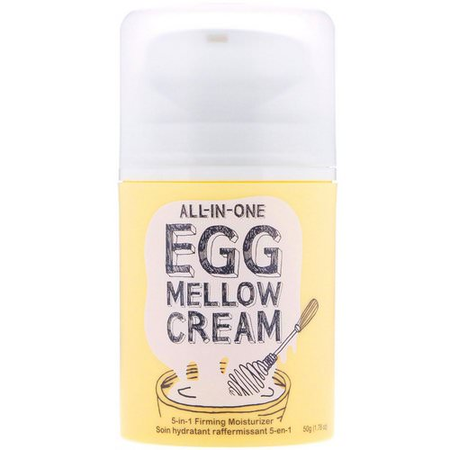 Too Cool for School, All-in-One Egg Mellow Cream, 5-in-1 Firming Moisturizer, 1.76 oz (50 g) Review