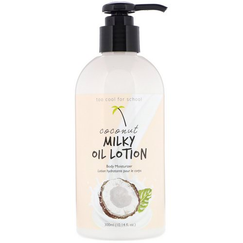 Too Cool for School, Coconut Milky Oil Lotion, 10.14 fl oz (300 ml) Review