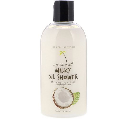 Too Cool for School, Coconut Milky Oil Shower, 10.14 fl oz (300 ml) Review