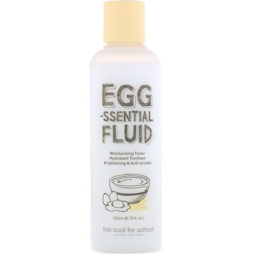 Too Cool for School, Egg-ssential Fluid, Moisturizing Toner, 6.76 fl oz (200 ml) Review