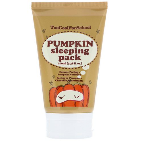 Too Cool for School, Pumpkin Sleeping Pack, 3.38 fl oz (100 ml) Review