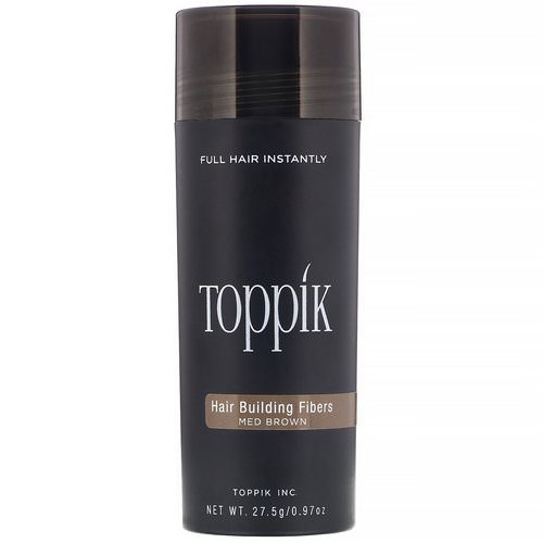 Toppik, Hair Building Fibers, Medium Brown, 0.97 oz (27.5 g) Review